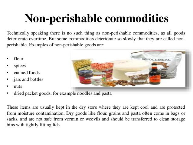 which is an example of a commodity